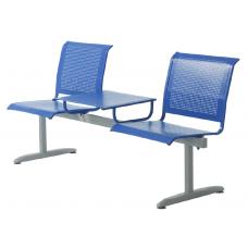 """Секция стульев """"Флайт"""" со столиком"""