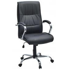 """Кресло для руководителя """"Стинг"""" искусственная кожа c перфорацией"""