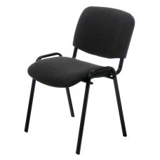 """Стул """"ИЗО"""" каркас черный, сиденье и спинка ткань"""