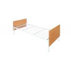 Кровать металлическая со спинками из ЛДСП К.191.57
