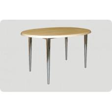 """Каркас стола на металлическом каркасе """"Комфорт"""" П1.19.21, цв.металлик"""