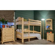 """Кровать двухъярусная """"Фрея 3"""" высота 1870 мм"""