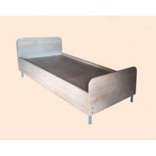 Кровать односпальная ЛДСП на металлическом каркасе МР-10